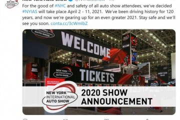 GNYADA宣告正式撤销2020年纽约车展